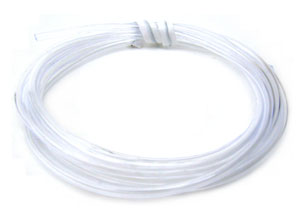Jewellery Tube PU Tubing 1.6mm - Clear x100cm