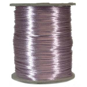 Rattail 1mm Lavender (Kumihimo) Satin Braiding Cord 3 metre