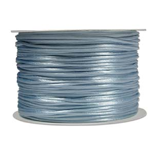 Rattail 3mm Light Blue (Kumihimo) Satin Braiding Cord 1 metre
