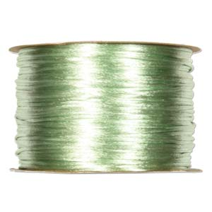 Rattail 2mm Mint Kumihimo Satin Braiding Cord x1m