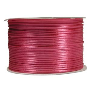 Rattail 1mm Shocking Pink (Kumihimo) Satin Braiding Cord 3 metre