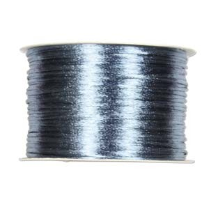 Rattail 2mm Williamsburg Blue Kumihimo Satin Braiding Cord x1m
