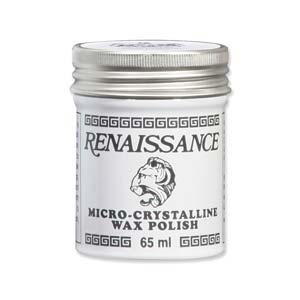 Renaissance Micro-Crystalline Wax Polish 65ml jar