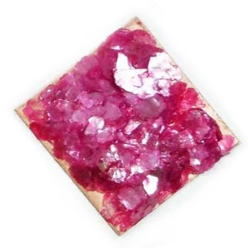 ICED Enamels® – Shattered Mica - Raspberry