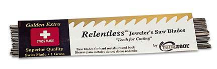Saw Blades - Relentless® - Jewellers Tools x12 bundle