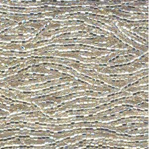 Czech Seed Beads 11/0 Silver Lined Ab Crystal mini hank