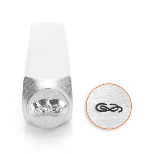 ImpressArt, Flourish B 6mm Metal Stamping Design Punches