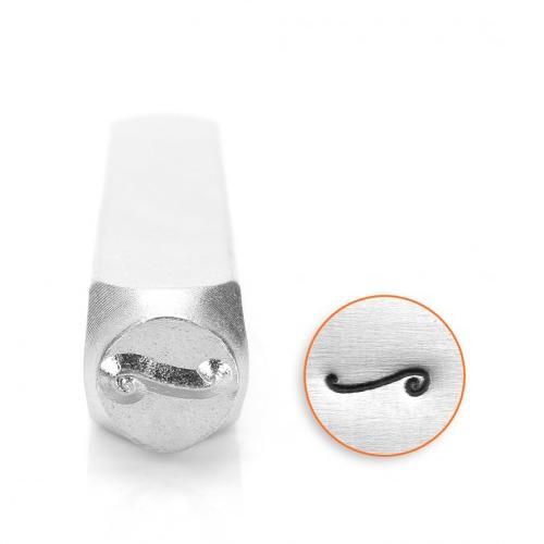 ImpressArt, Flourish F 6mm Metal Stamping Design Punches