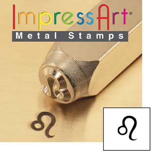 Zodiac Leo 6mm Metal Stamping Design Punches - ImpressArt