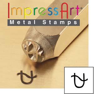 Stamping Design Ophiuchus Zodiac 6mm Steel Punch Tool ImpressArt