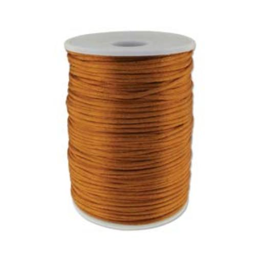 Beadsmith Knot It Luggage 2mm Satin Braiding Cord 144yd Bulk Spool