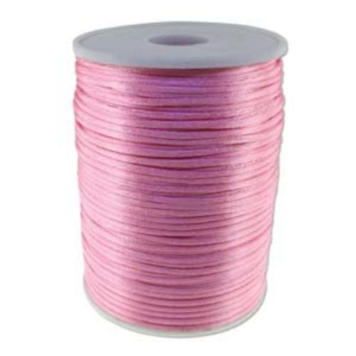 Beadsmith Knot It Mauve 2mm Satin Braiding Cord 144yd Bulk Spool (PRE-ORDER)