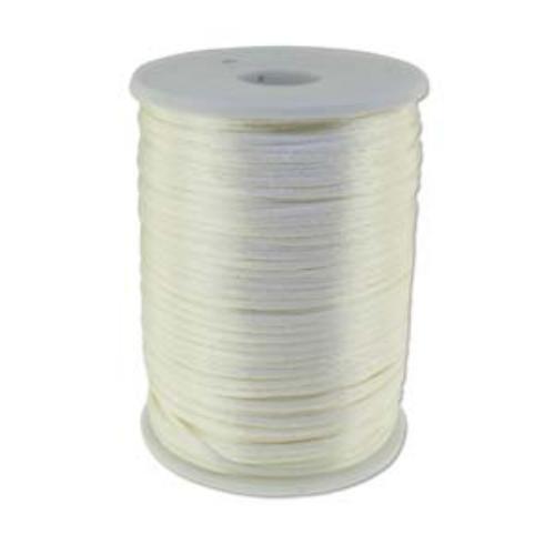 Beadsmith Knot It Tan 2mm Satin Braiding Cord 144yd Bulk Spool