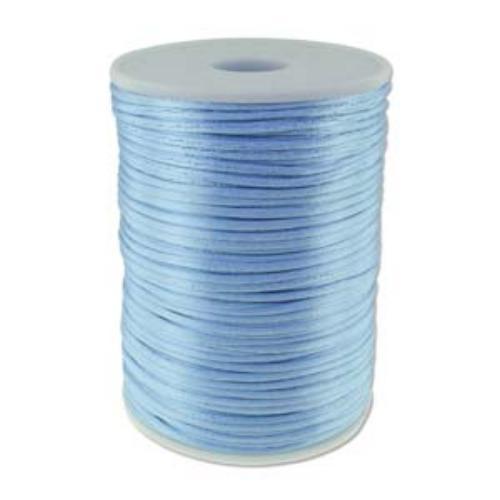 Beadsmith Knot It Williamsburg Blue 2mm Satin Braiding Cord 144yd Bulk Spool