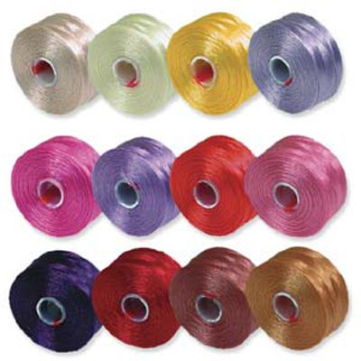 S-Lon, Super Lon Size D Thread Mix 3 pinks/purples
