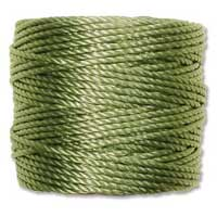 S-Lon, Super Lon Heavy Macrame Cord Tex400 Avocado