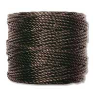 S-Lon, Super Lon Heavy Macrame Cord Tex400 Black