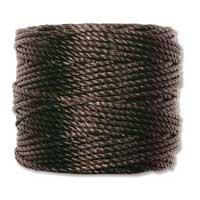 S-Lon, Super Lon Heavy Macrame Cord Tex400 Black