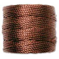 S-Lon, Super Lon Heavy Macrame Cord Tex400 Brown