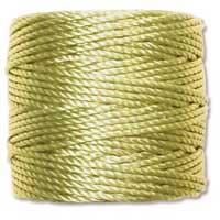 S-Lon, Super Lon Heavy Macrame Cord Tex400 Chartreuse