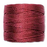 S-Lon, Super Lon Heavy Macrame Cord Tex400 Dark Red