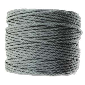 S-Lon, Super Lon Heavy Macrame Cord Tex400 Grey