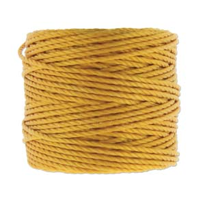S-Lon, Super Lon Heavy Macrame Cord Tex400 Light Gold