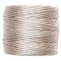 S-Lon, Super Lon Heavy Macrame Cord Tex400 Light Grey Oyster