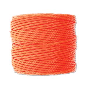 S-Lon, Super Lon Heavy Macrame Cord Tex400 Neon Orange
