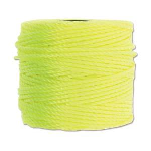 S-Lon, Super Lon Heavy Macrame Cord Tex400 Neon Yellow