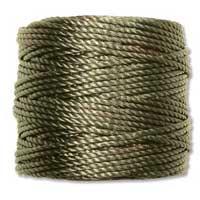 S-Lon, Super Lon Heavy Macrame Cord Tex400 Olive