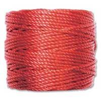 S-Lon, Super Lon Heavy Macrame Cord Tex400 Shanghai Red