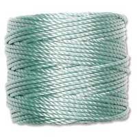 S-Lon, Super Lon Heavy Macrame Cord Tex400 Turquoise