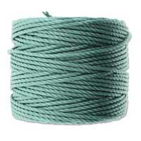 S-Lon, Super Lon Heavy Macrame Cord Tex400 Vintage Jade