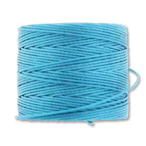 S-Lon, Superlon Tex 210, 0.5mm Bead Cord Bermuda Blue