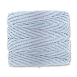 S-Lon, Superlon Tex 210, 0.5mm Bead Cord Blue Morning