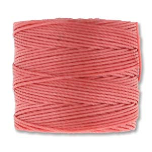 S-Lon, Superlon Tex 210, 0.5mm Bead Cord Chinese Coral