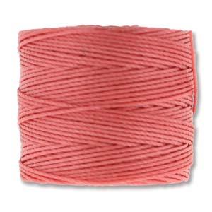 S-Lon, Superlon Tex 210, 0.5mm Bead Cord Chinese Coral