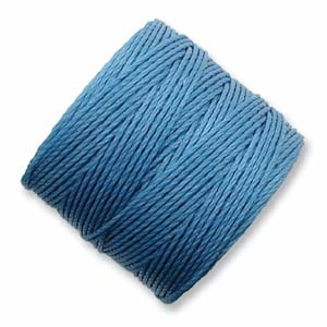 S-Lon, Super Lon Bead Cord Tex210 Carolina Blue