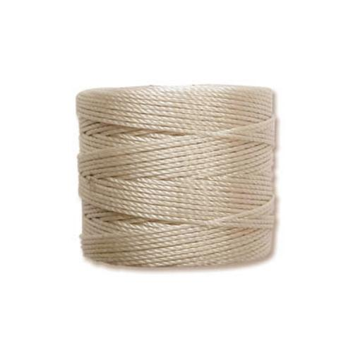 S-Lon, Superlon Tex 210, 0.5mm Bead Cord Cream (Beige)