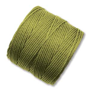 S-Lon, Superlon Tex 210, 0.5mm Bead Cord Chartreuse