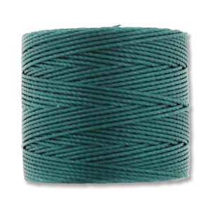 S-Lon, Superlon Tex 210, 0.5mm Bead Cord Green Blue