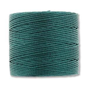S-Lon, Superlon Tex 210, 0.5mm Bead Cord Green Blue