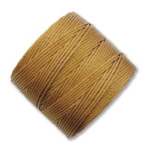 S-Lon, Superlon Tex 210, 0.5mm Bead Cord Gold