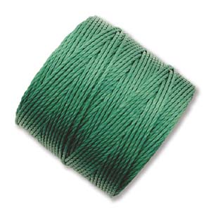 S-Lon, Superlon Tex 210, 0.5mm Bead Cord Green