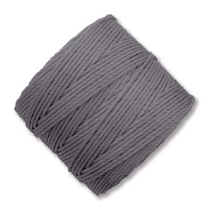 S-Lon, Super Lon Bead Cord Tex210 Grey
