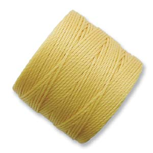 S-Lon, Superlon Tex 210, 0.5mm Bead Cord Golden Yellow