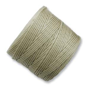 S-Lon, Super Lon Bead Cord Tex210 Light Khaki