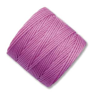 S-Lon, Superlon Tex 210, 0.5mm Bead Cord Light Orchid