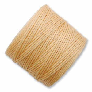 S-Lon, Super Lon Bead Cord Tex210 Light Peach